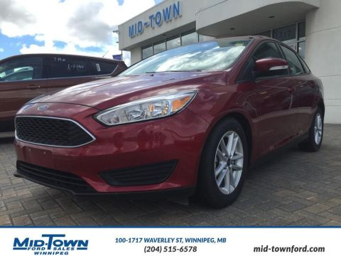 New 2016 Ford Focus SE Front Wheel Drive 4 Door Car