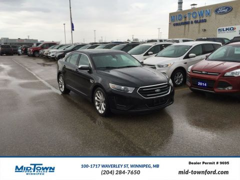 Used 2016 Ford Taurus LIMITED AWD All Wheel Drive 4 Door Car