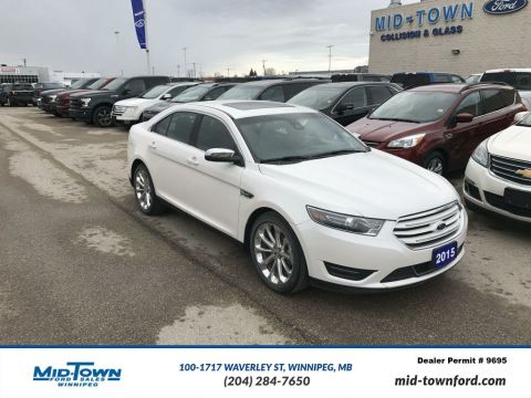 Used 2015 Ford Taurus Limited All Wheel Drive 4 Door Car