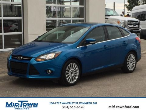 Pre-Owned 2012 Ford Focus Titanium Front Wheel Drive 4 Door Car