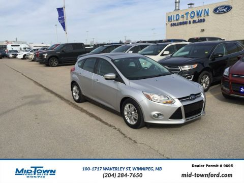 Used 2012 Ford Focus 5dr HB SEL Front Wheel Drive 4 Door Car
