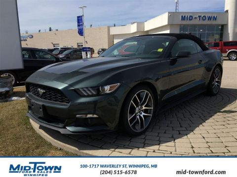 Pre-Owned 2015 Ford Mustang 2dr Conv EcoBoost Premium Rear Wheel Drive 2 Door Car