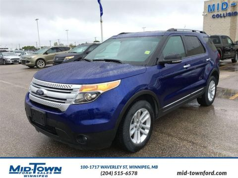 Pre-Owned 2013 Ford Explorer 4WD 4dr XLT Four Wheel Drive 4 Door Sport Utility