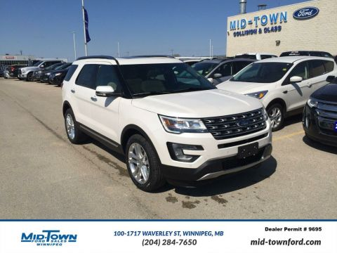 New 2017 Ford Explorer Limited 4WD With Navigation