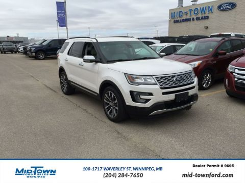 Used 2016 Ford Explorer 4WD 4dr Platinum Four Wheel Drive 4 Door Sport Utility