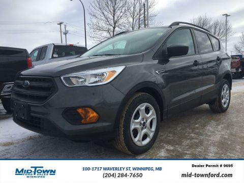New 2017 Ford Escape S Front Wheel Drive 4 Door Sport Utility