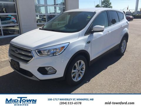 New 2017 Ford Escape SE Front Wheel Drive 4 Door Sport Utility