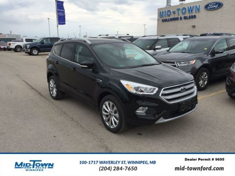 New 2017 Ford Escape Titanium 4WD Four Wheel Drive 4 Door Sport Utility