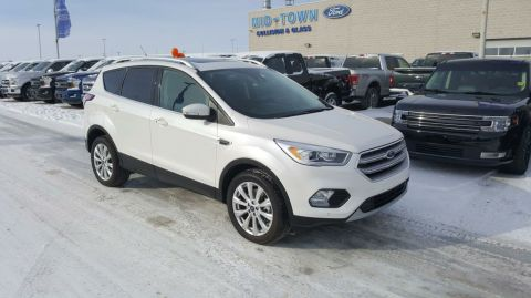 Used 2017 Ford Escape Titanium 4WD Four Wheel Drive 4 Door Sport Utility