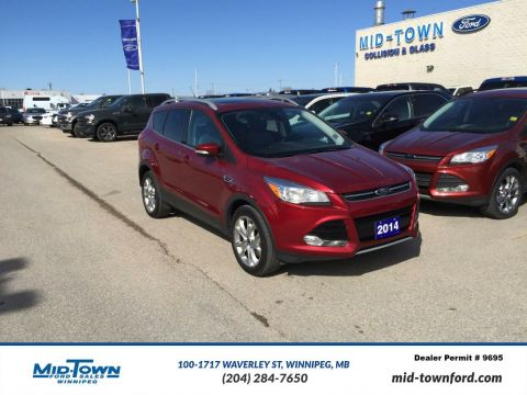 Used 2014 Ford Escape Titanium Four Wheel Drive 4 Door Sport Utility