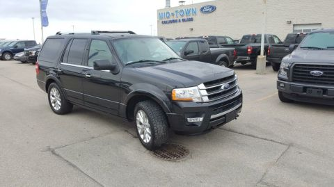 Used 2015 Ford Expedition 4WD 4dr Limited Four Wheel Drive 4 Door Sport Utility