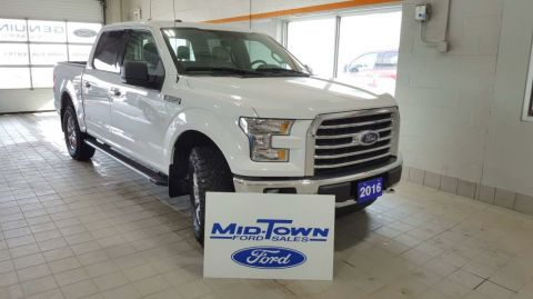 Used 2016 Ford F-150 S/CREW XTR 5.0L Four Wheel Drive 4 Door Pickup