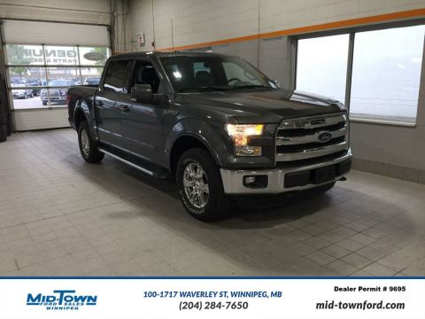 Used 2015 Ford F-150 S/CREW LARIAT FX4 Four Wheel Drive 4 Door Pickup