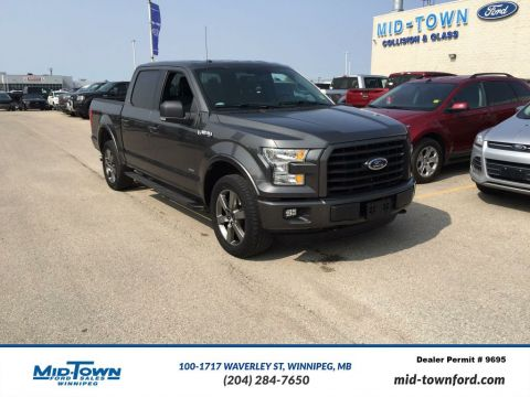 Used 2015 Ford F-150 S/CREW XLT SPORT Four Wheel Drive 4 Door Pickup