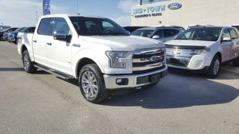 Used 2015 Ford F-150 S/CREW LARIAT 502A Four Wheel Drive 4 Door Pickup