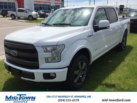 New 2016 Ford F-150 Lariat Four Wheel Drive 4 Door Pickup