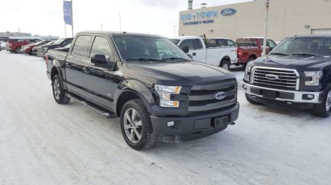 Used 2016 Ford F-150 S/CREW LARIAT SPORT Four Wheel Drive 4 Door Pickup