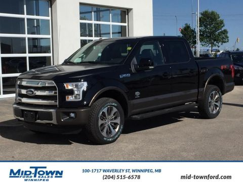 New 2016 Ford F-150 King Ranch Four Wheel Drive 4 Door Pickup