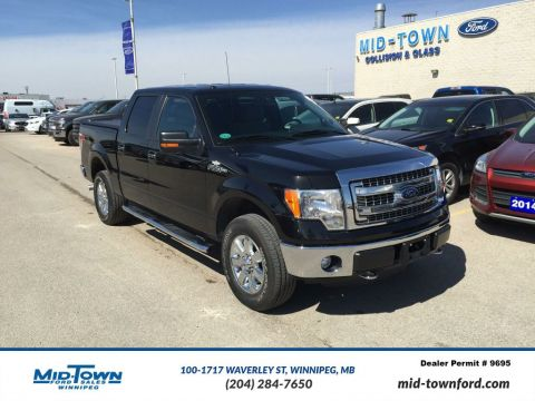 Used 2014 Ford F-150 S/CREW XTR Four Wheel Drive 4 Door Pickup