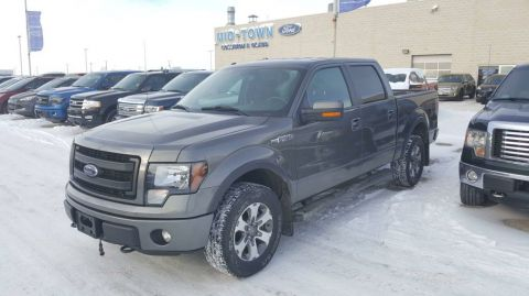 Used 2014 Ford F-150 S/CREW FX4 5.0L Four Wheel Drive 4 Door Pickup