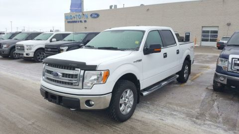 Used 2014 Ford F-150 S/CREW XTR 302A 5.0L Four Wheel Drive 4 Door Pickup