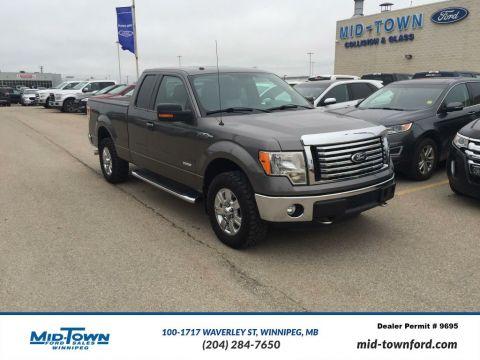 Used 2012 Ford F-150 S/CAB XTR Four Wheel Drive 4 Door Pickup