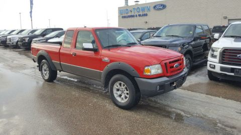 Used 2007 Ford Ranger FX4 4X4 Four Wheel Drive 4 Door Pickup