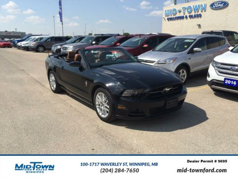 Used 2014 Ford Mustang Premium Convertible Rear Wheel Drive 2 Door Car