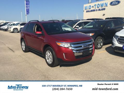 Used 2013 Ford Edge 4dr SEL FWD Front Wheel Drive 4 Door Car