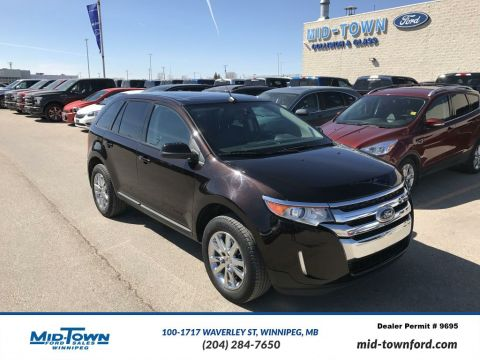 Used 2013 Ford Edge SEL All Wheel Drive 4 Door Car