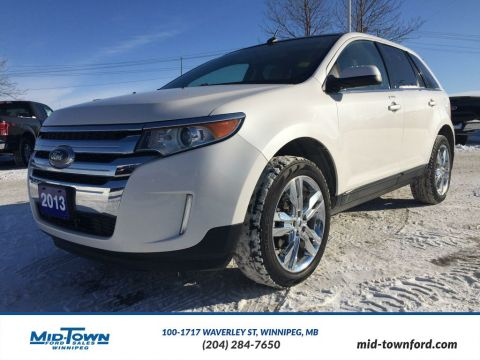 Pre-Owned 2013 Ford Edge Limited All Wheel Drive 4 Door Car