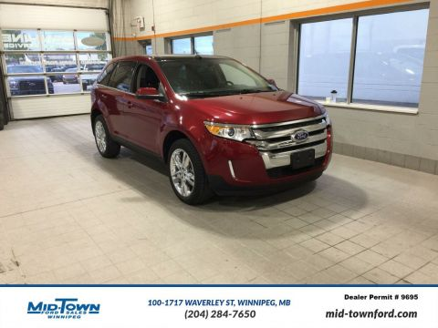 Used 2014 Ford Edge 4dr Limited AWD All Wheel Drive 4 Door Sport Utility