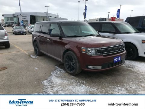 Pre-Owned 2016 Ford Flex 4dr SEL AWD All Wheel Drive 4 Door Sport Utility
