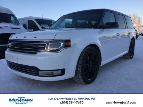 Used 2016 Ford Flex Limited w/EcoBoost All Wheel Drive 4 Door Sport Utility
