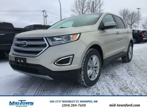 New 2017 Ford Edge SEL All Wheel Drive 4 Door Sport Utility