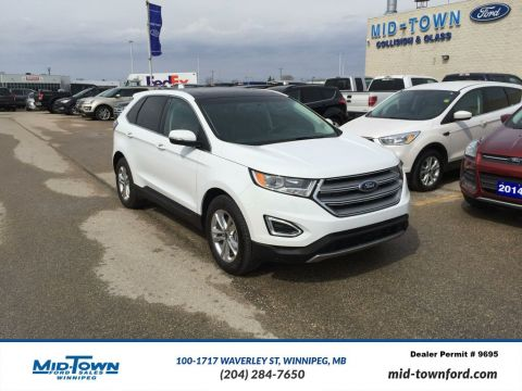 Used 2016 Ford Edge SEL AWD LUXURY All Wheel Drive 4 Door Sport Utility