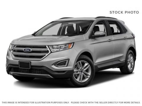 New 2017 Ford Edge SEL AWD All Wheel Drive 4 Door Sport Utility
