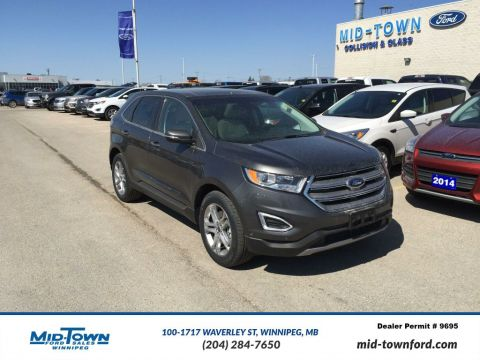 New 2017 Ford Edge Titanium AWD All Wheel Drive 4 Door Sport Utility