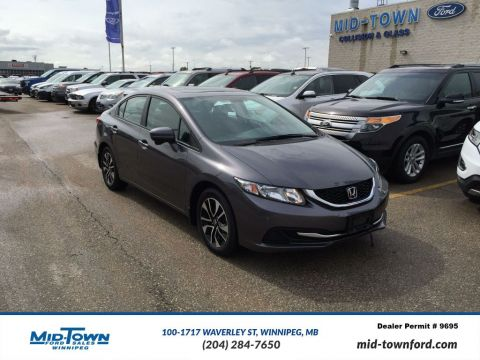 Used 2015 Honda Civic Sedan 4dr CVT LX Front Wheel Drive 4 Door Car