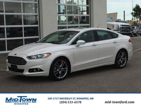 Pre-Owned 2015 Ford Fusion Titanium Front Wheel Drive 4 Door Car