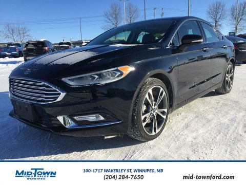 Pre-Owned 2017 Ford Fusion Titanium All Wheel Drive 4 Door Car