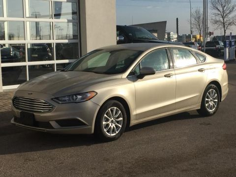 New 2017 Ford Fusion S Front Wheel Drive 4 Door Car