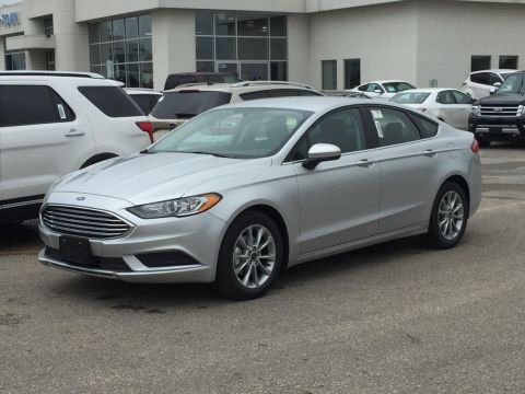 New 2017 Ford Fusion SE Front Wheel Drive 4 Door Car