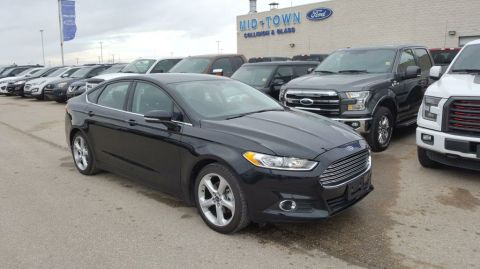 Used 2016 Ford Fusion 4dr Sdn SE APPEARANCE PKG W/NAV Front Wheel Drive 4 Door Car