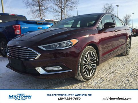 Pre-Owned 2017 Ford Fusion SE All Wheel Drive 4 Door Car