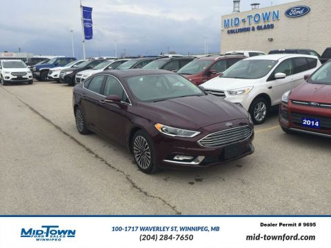 Used 2017 Ford Fusion SE AWD LUXURY All Wheel Drive 4 Door Car