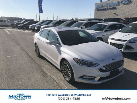 Pre-Owned 2017 Ford Fusion SE AWD All Wheel Drive 4 Door Car