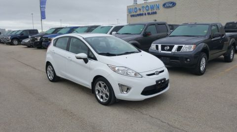 Used 2013 Ford Fiesta 5dr TITANIUM HATCHBACK Front Wheel Drive 4 Door Car