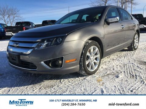 Used 2012 Ford Fusion SEL Front Wheel Drive 4 Door Car