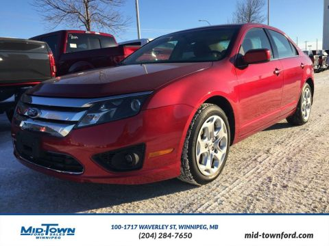 Used 2010 Ford Fusion SE Front Wheel Drive 4 Door Car